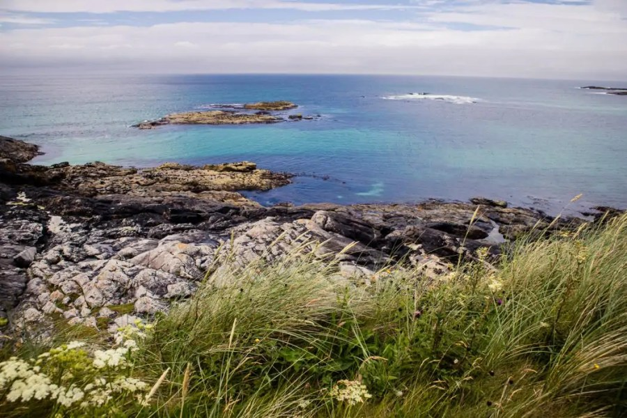 Day 1 Walking across Barra - Hebridean Way in 12 days