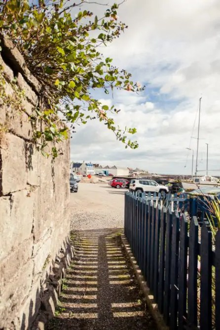 Quirky lanes in Johnshaven in Aberdeenshire