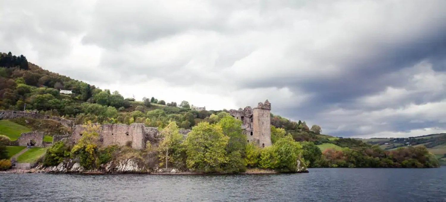 Urquhart Castle on the shore of the loch is the absolute highlight of a day tour to Loch Ness.