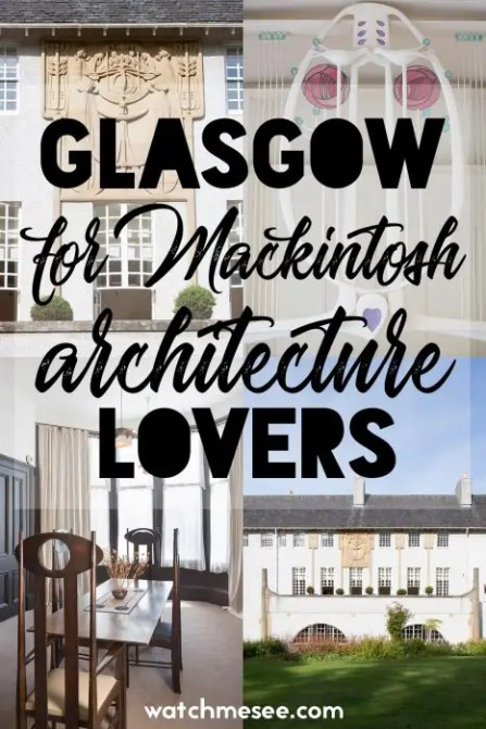 Check out this guide for the best Mackintosh architecture in Glasgow and find out which museums, shops and tours to add to your Glasgow itinerary!