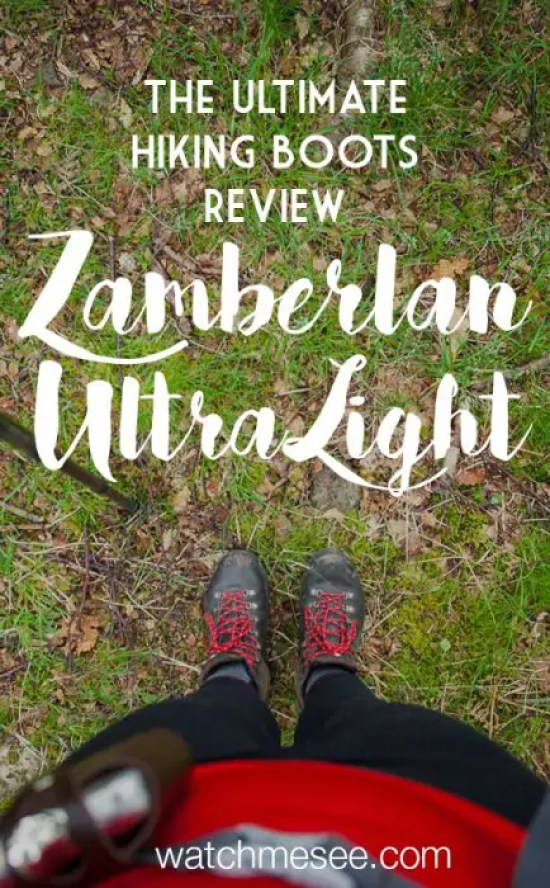 A good pair of hiking boots is a crucial element of a successful hiking adventure in Scotland. Are the Zamberlan hiking boots right for you? Read my review!