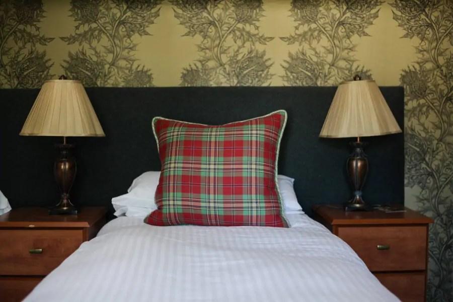 Loch Kinord Hotel in Dinnet in the Royal Deeside.