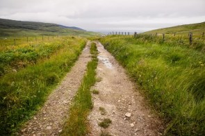 A wide track on the Isle of Barra