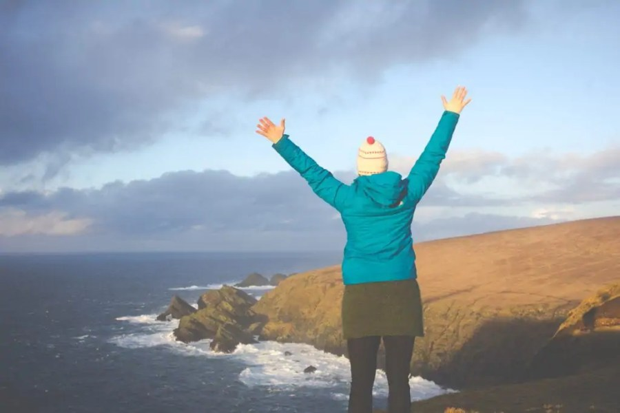 If there is one item you HAVE TO PACK when you travel to Scotland, it is a good waterproof jacket. The North Face Loreta goes where I go & this is why!
