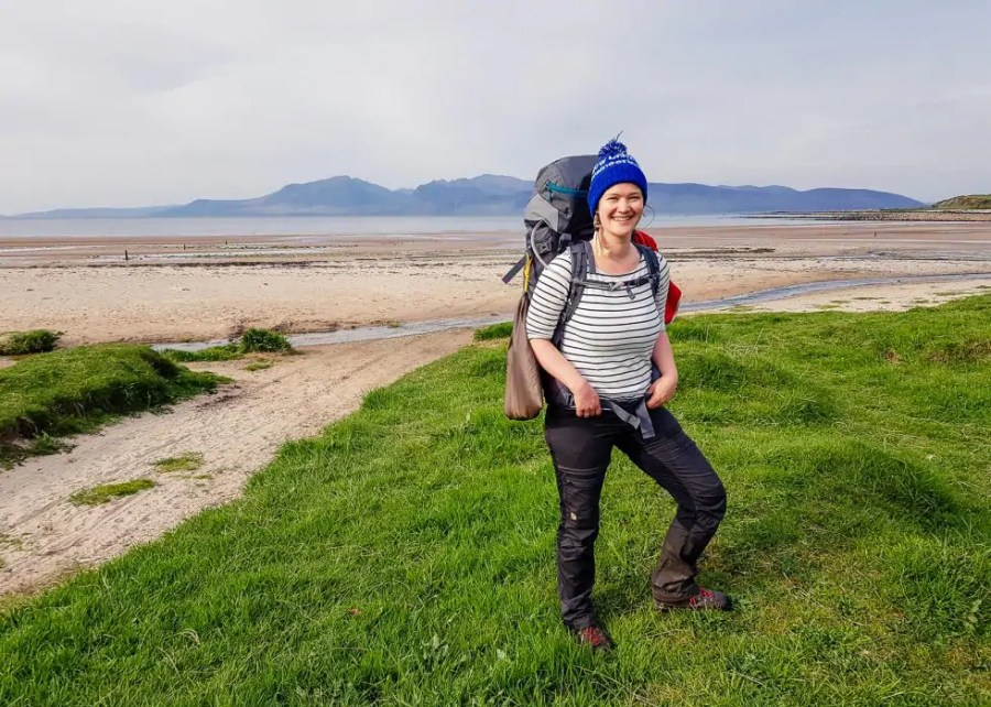 Solo hiking in Scotland. - The best trekking backpacks & their must-have features