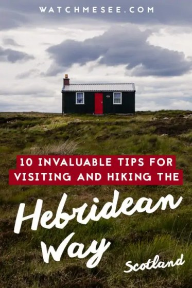 Here are 10 invaluable tips for hiking the Hebridean Way in Scotland which you won't find in any guide book!