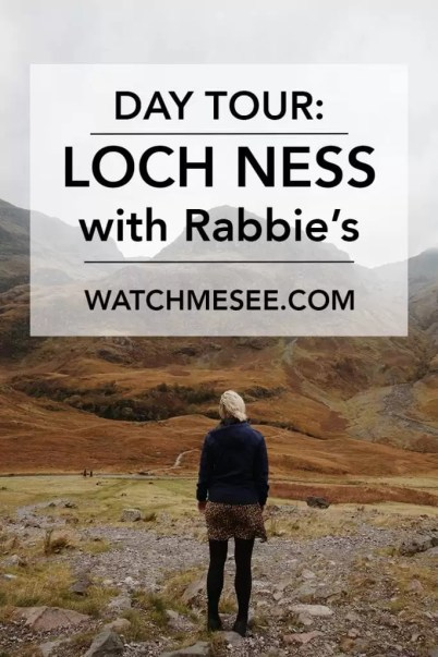 Scotland in a day. That's what Rabbie's calls its day tour to Loch Ness including additional stops in Loch Lomond, Glencoe and Pitlochry. Here's my lowdown.