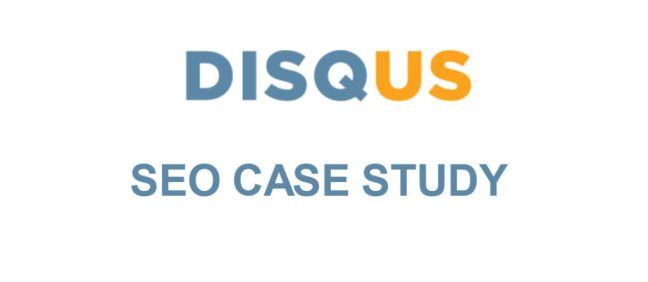 Get Backlink Using Disqus - Case Study