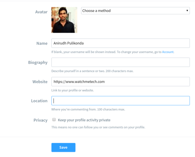 Get Backlinks Using Disqus Profile