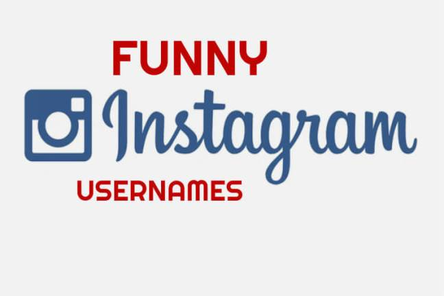 Funny Cool Instagram Names