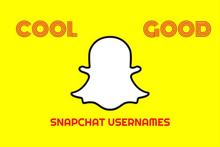 Cool Snapchat Names using Good Ideas
