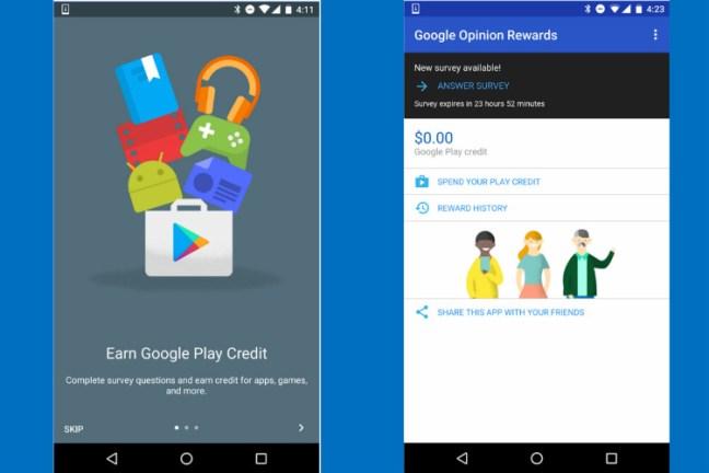 Free Google Play Store Credit