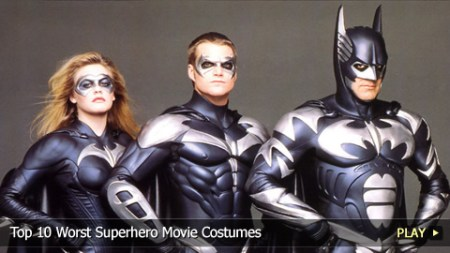 Top 10 Worst Superhero Movie Costumes   WatchMojo com Top 10 Worst Superhero Movie Costumes