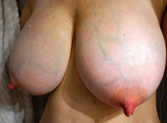 Big real amateur girl with massive tits gets hard fucked