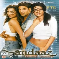 Andaaz (2003) Full Movie Watch Online DVD Print Free Download