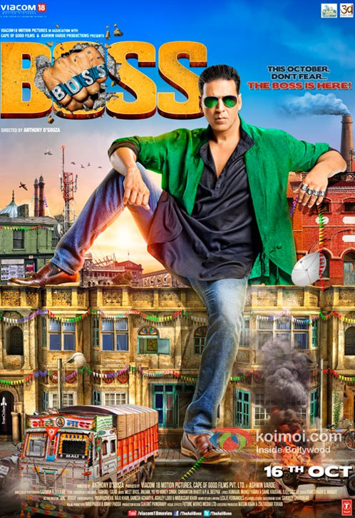 Boss (2013) Full Movie Watch Online HD Print Free Download