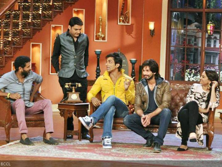 Comedy Nights With Kapil 8th Dec 2013 With Shahid & Sonakshi Sinha