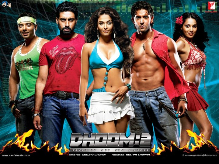 Dhoom 2 (2006) Full Movie Watch Online HD Free Download