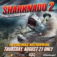 Sharknado 2: The Second One (2014) Hindi Dubbed Full Movie Watch Online HD Free Download
