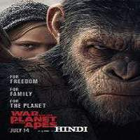 War for the Planet of the Apes (2017) Hindi Dubbed Full Movie Watch Online HD Free Download