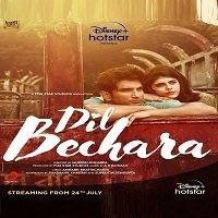 Dil Bechara (2020) Hindi Full Movie Watch Online HD Print Free Download