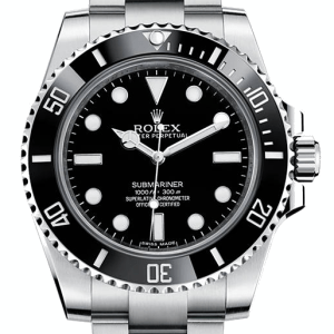 black rolex submariner