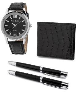 Pierre Cardin Geschenk Set Uhr & Geldbörse & Kugelschreiber PCX8222G27