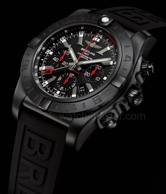 www.watchtime.com | blog  | Watch Insiders Top 10 Chronographs of 2013 | Breitling Chronomat GMT black