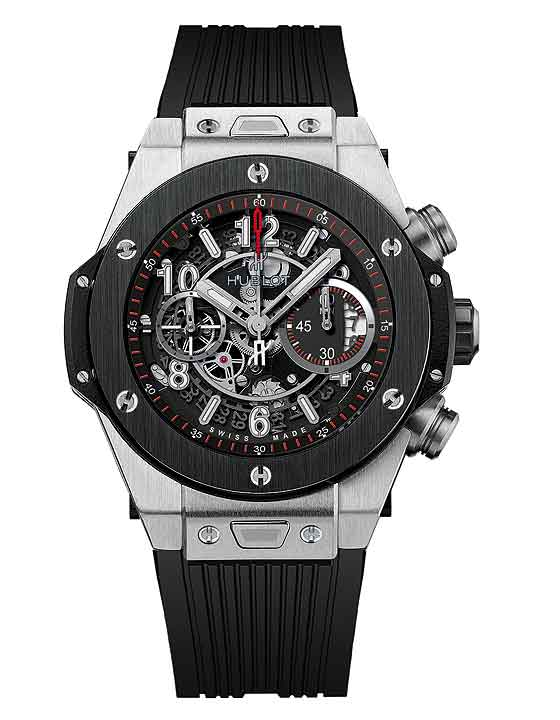 www.watchtime.com | blog  | Watch Insiders Top 10 Chronographs of 2013 | Hublot BigBang Unico front 560