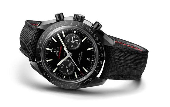 www.watchtime.com   blog    Watch Insiders Top 10 Chronographs of 2013   Omega Speedmaster Moonwatch black ceramic white background LG