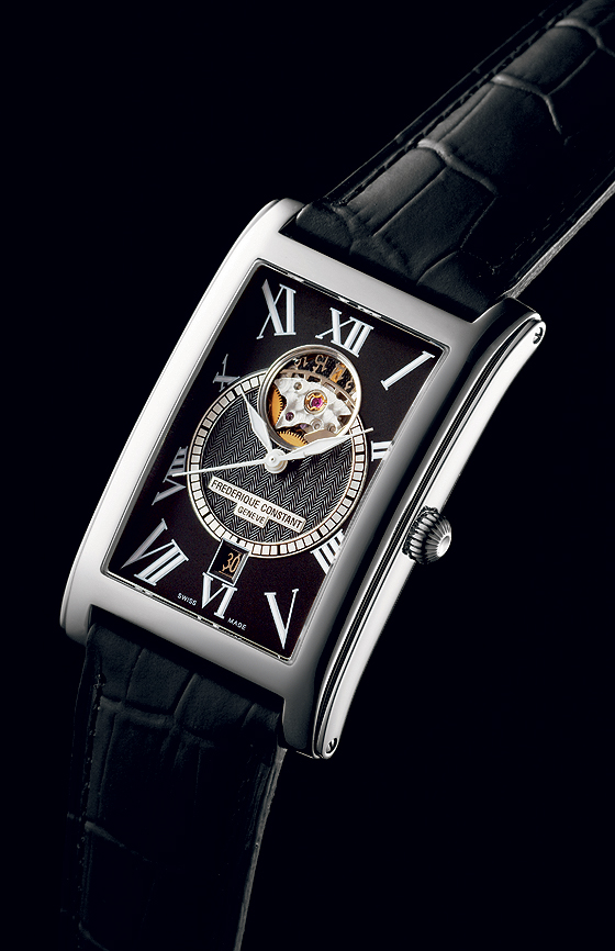 Frederique Constant Heart Beat Date Carree - front