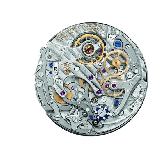 Girard-Perregaux's new chronograph caliber is an integrated, column-wheel design.