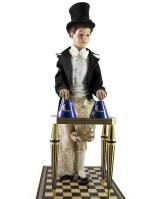 Automate magicien de Jaquet Droz