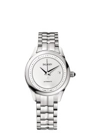 Balmain Maestria Round Automatic pair watches modèle pour femme avec bracelet en acier
