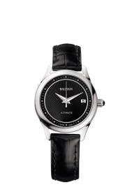 Balmain Maestria Round Automatic pair watches modèle pour femme avec bracelet en cuir