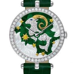 Van Cleef & Arpels montre Lady Arpels Zodiac signe Capricorne