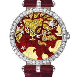 Van Cleef & Arpels montre Lady Arpels Zodiac signe Lion