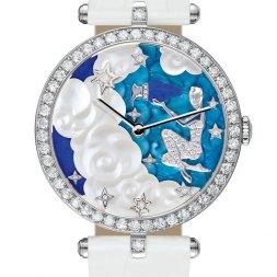 Van Cleef & Arpels montre Lady Arpels Zodiac signe Verseau