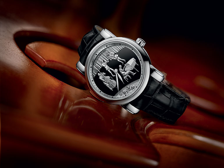 Ulysse Nardin Jazz Minute Repeater vue ambiance