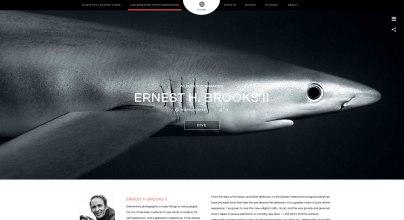 Capture écran site blancpain ocean commitment photographe