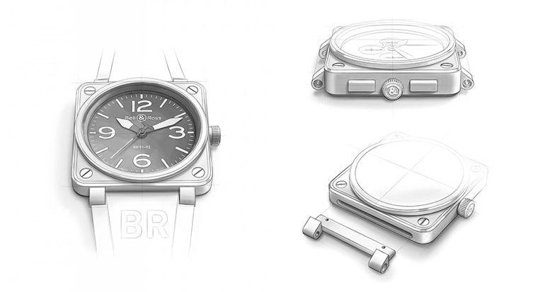 Design inspiration BR01 Bell& ross