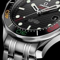 Omega Seamaster Diver 300M «Rio 2016» Edition limitée lunette