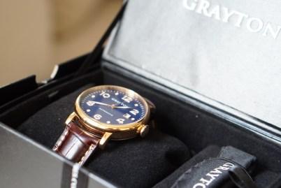 Grayton automatic watches boite