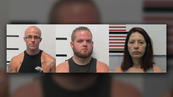 5 arrested in Tennessee-Kentucky meth ring bust
