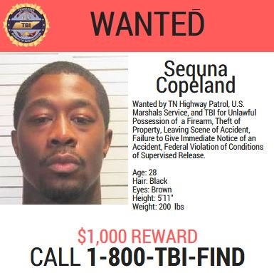 Sequna 'Cutthroat' Copeland wanted poster-873703986