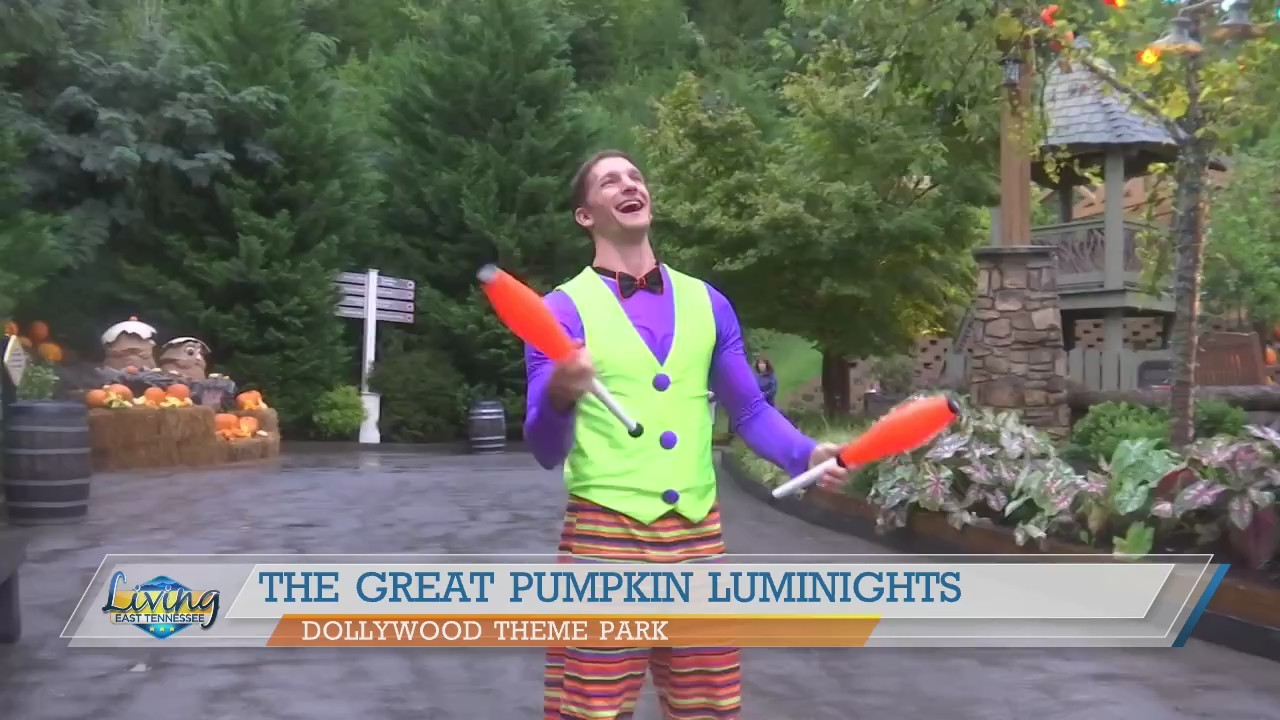 Experience Dollywood's Great Pumpkin Luminights
