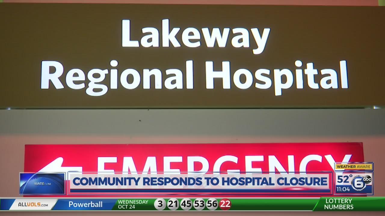 Hospital closures - 11 p.m.