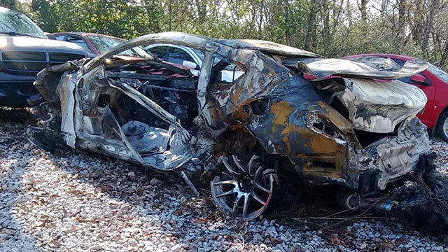 Investigators say driver was recording on cellphone when