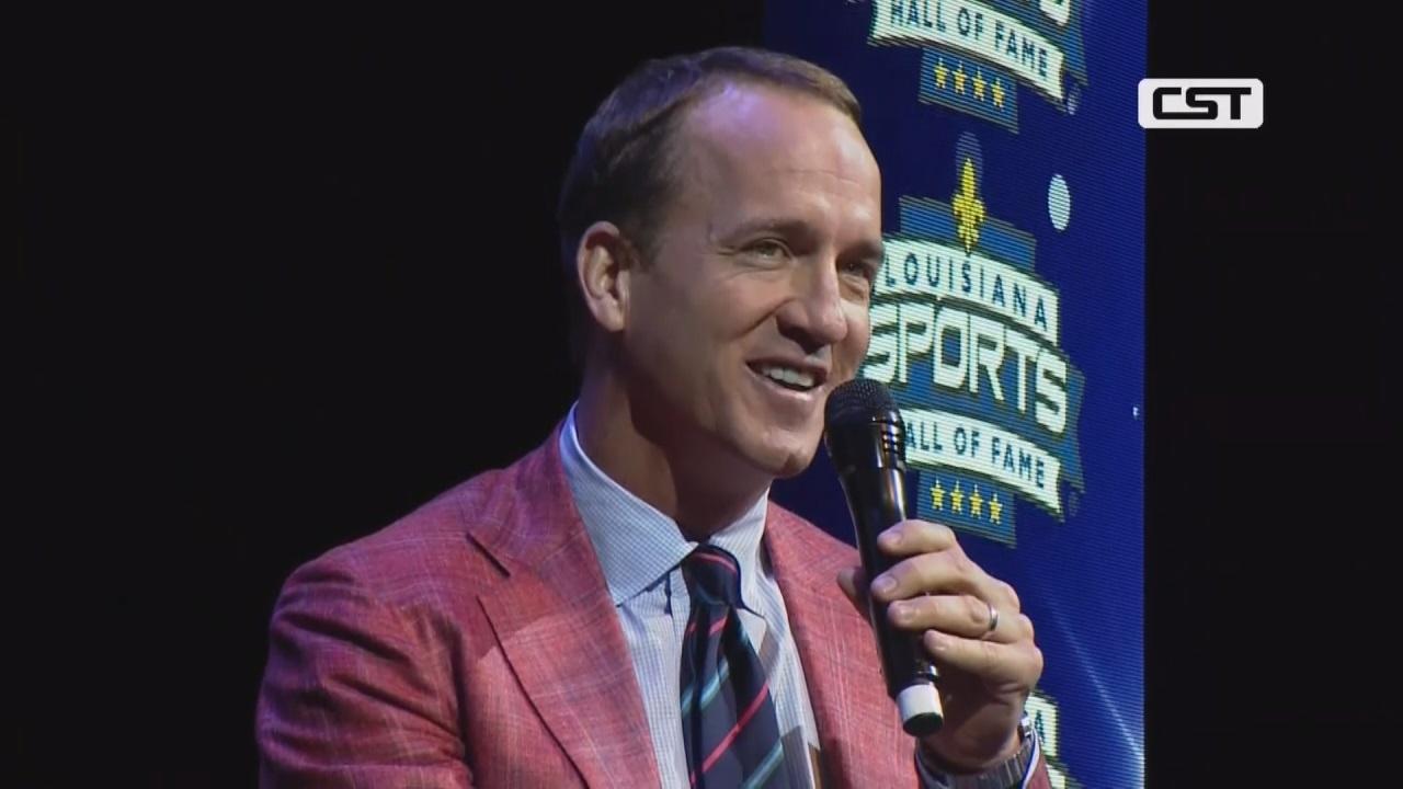 Peyton Manning Louisiana Hall of Fame