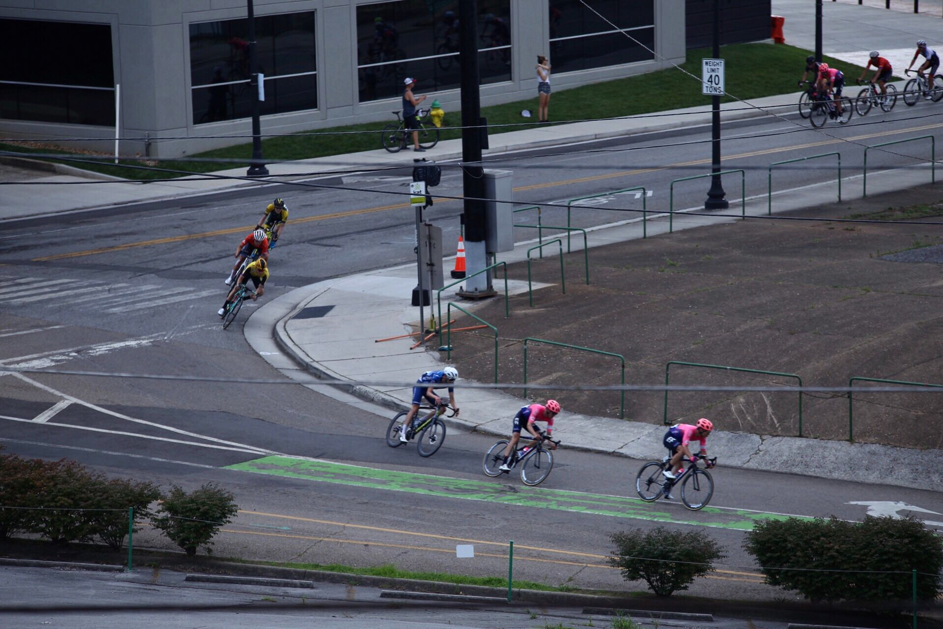 Scenes from the men's 2019 USA Cycling Pro Road National Championship on Sunday, June 30, 2019, in Knoxville, Tenn. (David Killebrew / WATE)
